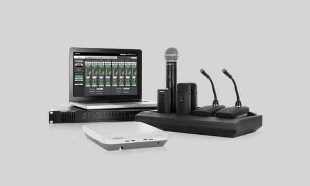 Shure et QSC intègrent leurs technologie Microflex et Q-SYS