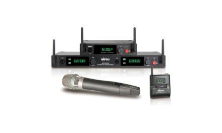 MIPRO HF 2.4GHz, numérique 5G ready