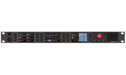 Riedel RSP-2318 : panneau de contrôle intelligent
