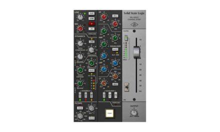 Universal Audio SSL 4000 E Channel Strip pour UAD-2 et Apollo, plug-in propriétaire