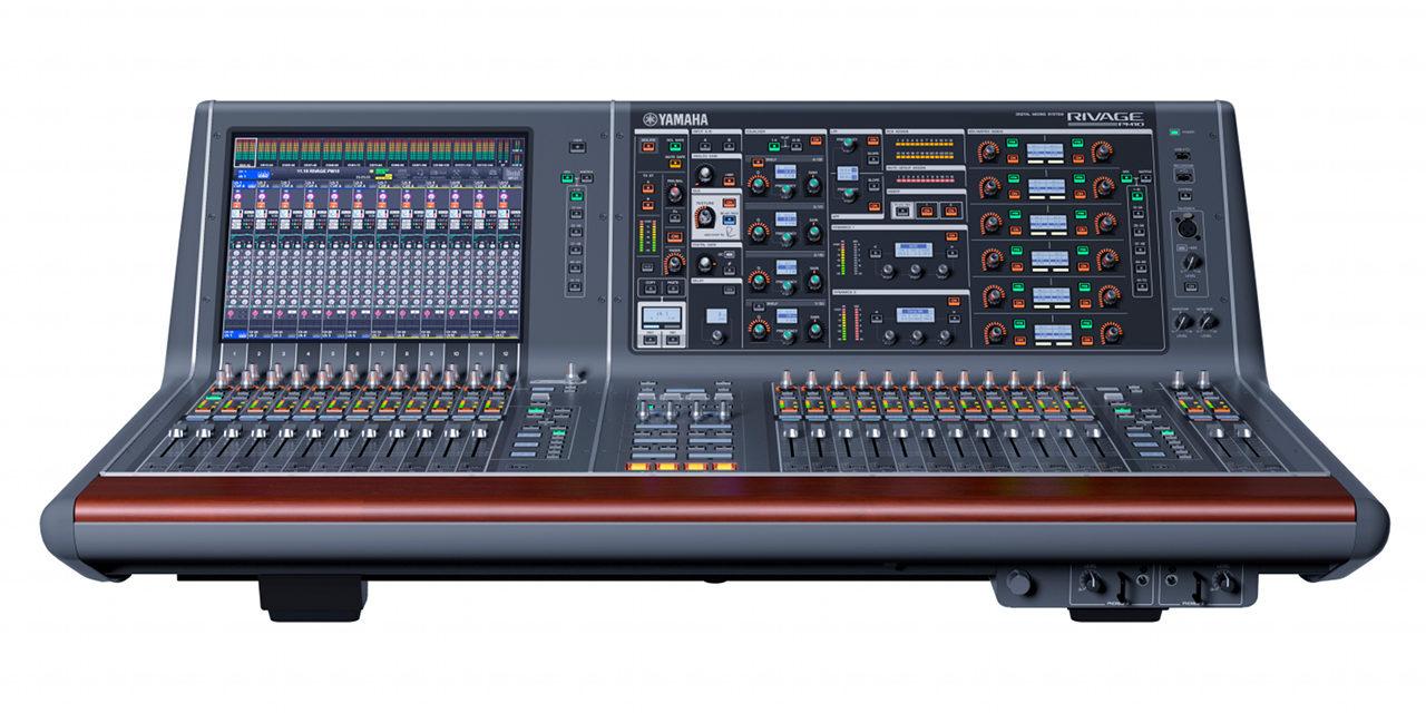 Yamaha CR-10S, surface de contrôle pour système RIVAGE PM10