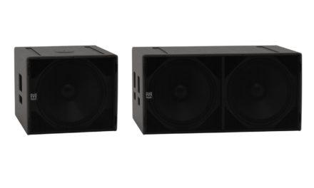 Martin Audio SX118 et SX218, caissons de graves