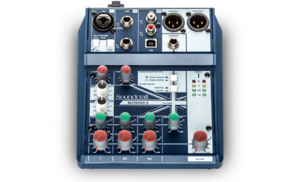 SOUNDCRAFT NOTEPAD, consoles de mixage petit format