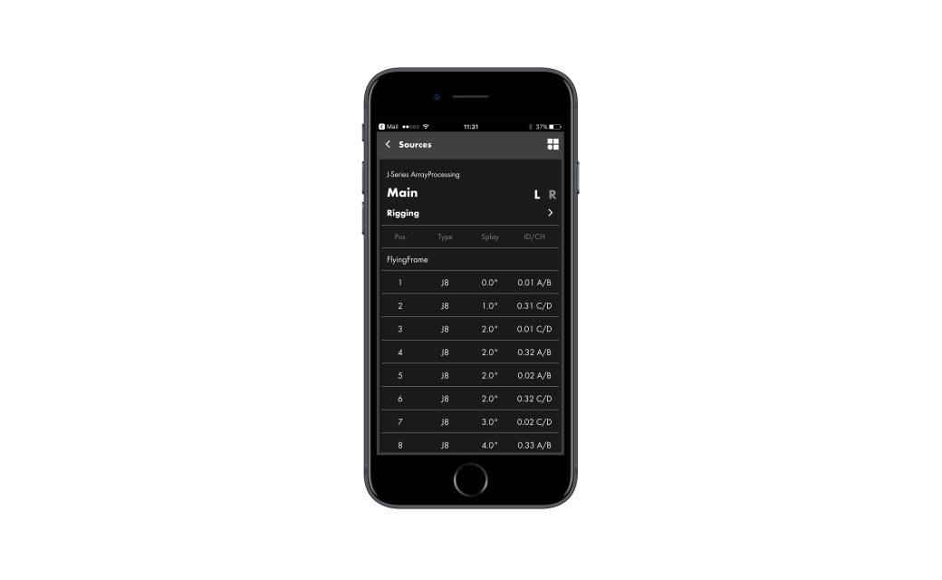 d&b Audiotechnik ArrayCalc Viewer pour iOS et Android
