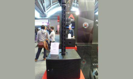 Axiom AX12C + SW2100A, système caisson/colonne