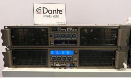 RAM Audio W 12044 édition spéciale, amplificateur de puissance