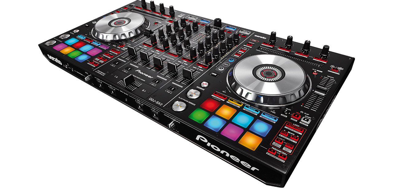 Serato P'NT DJ fourni avec le DDJ-SX2