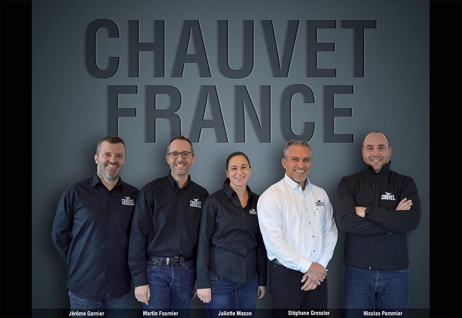 CHAUVET FRANCE OUVRE SES PORTES
