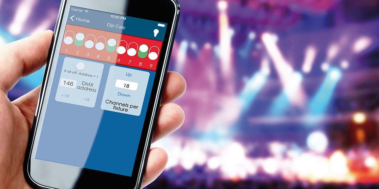 Les apps du designer et du technicien lumière