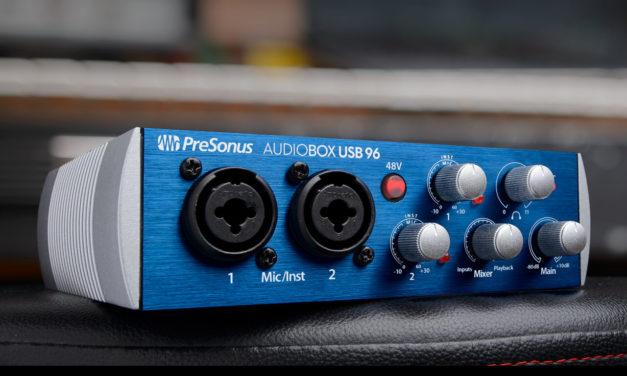 Presonus Audiobox en 96 kHz