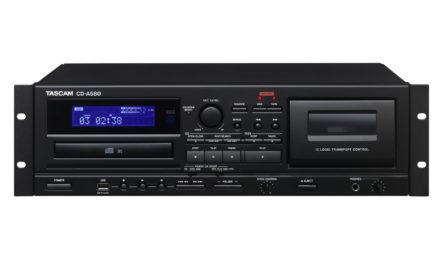 Tascam combo CD/cassette pour l'installation