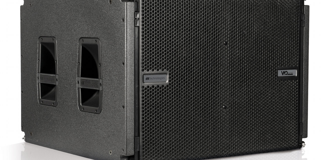 dB Technologies S118, caisson de graves line array