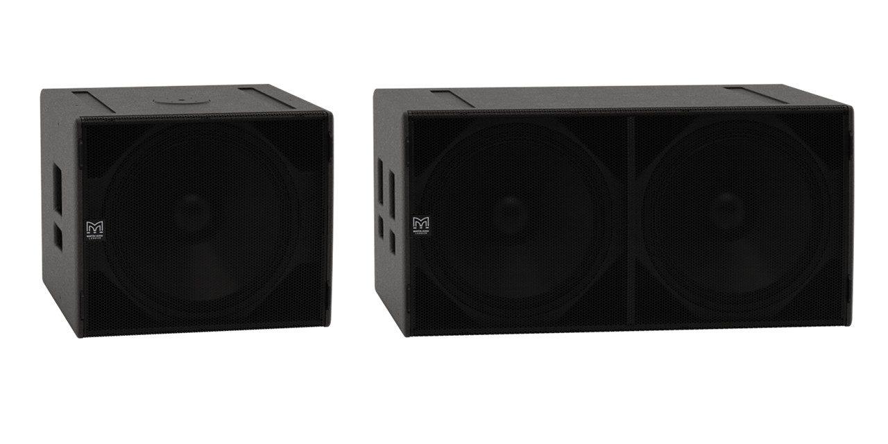 martin audio sx118 et sx218 caissons de graves sono mag. Black Bedroom Furniture Sets. Home Design Ideas