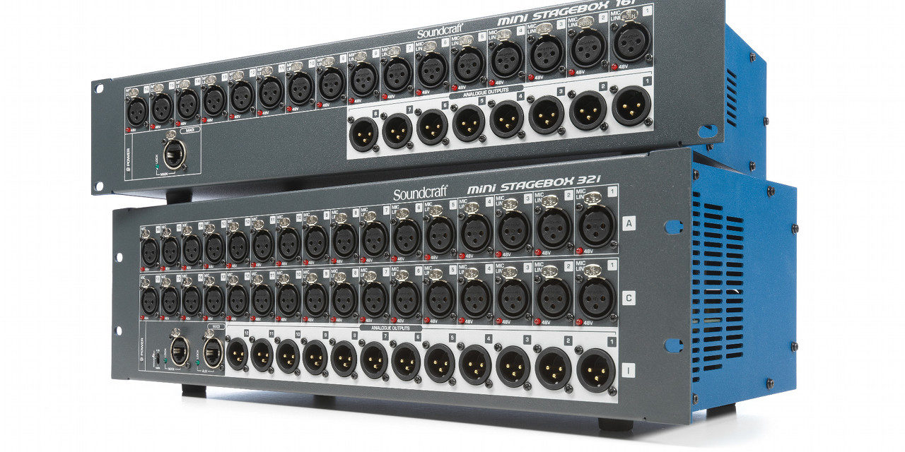 Soundcraft série Mini, stageboxes pour consoles Si