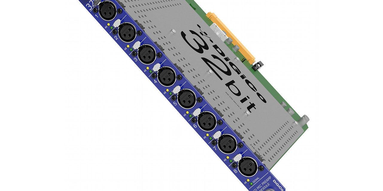 DiGiCo Stadius, carte 8 préamplis micro pour consoles SD