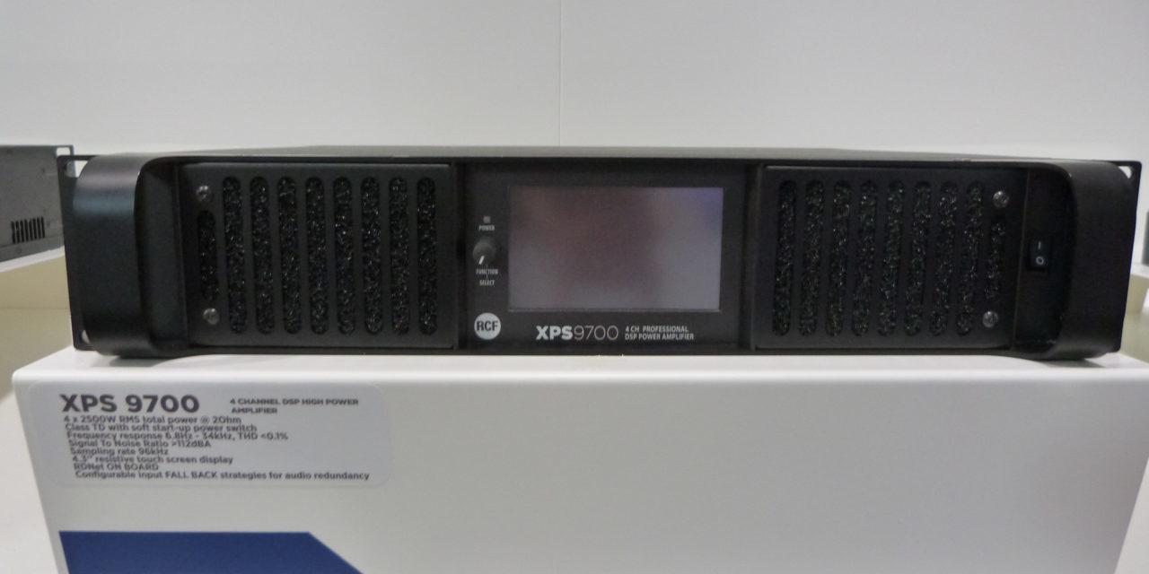 RCF DPS9700 & XPS9700, amplificateurs de puissance