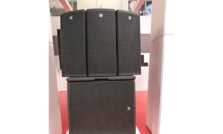 Coda Audio APS, enceinte point source arrayable