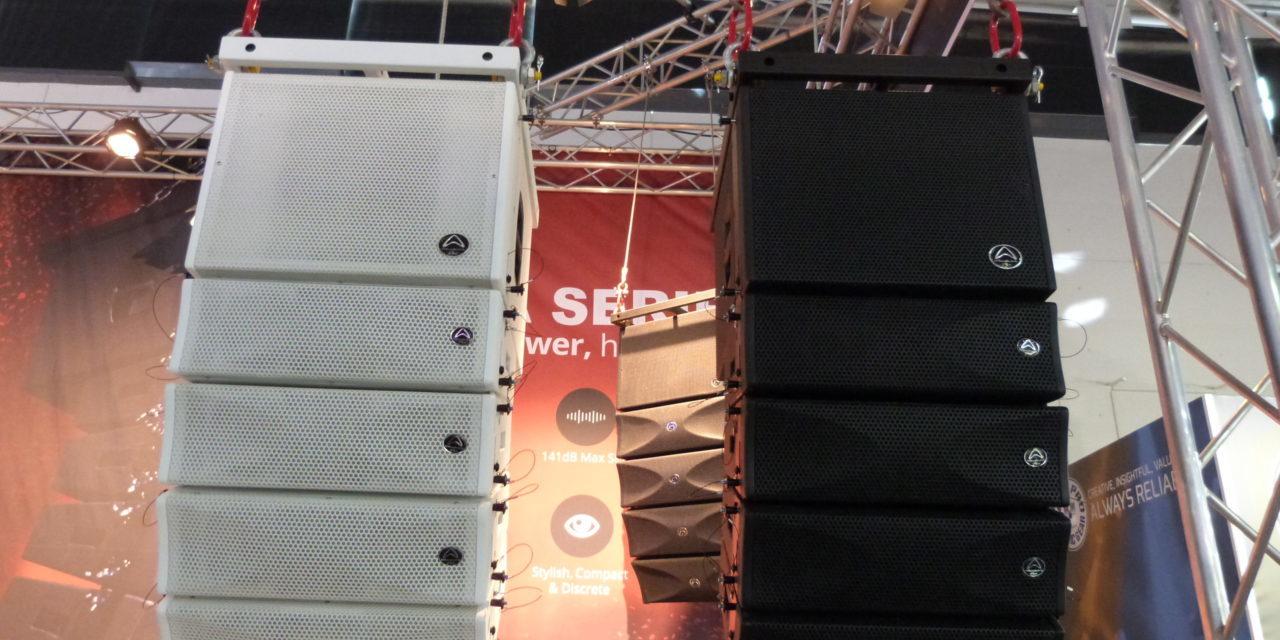 Wharfedale Pro Audio enceinte line array WLA25