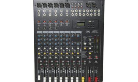 FiveO série F, consoles de mixage