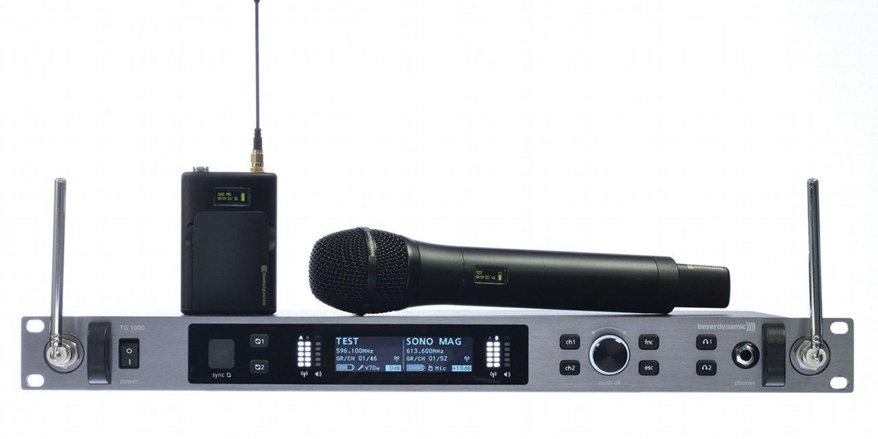 Système HF numérique TG 1000 Beyer Dynamic
