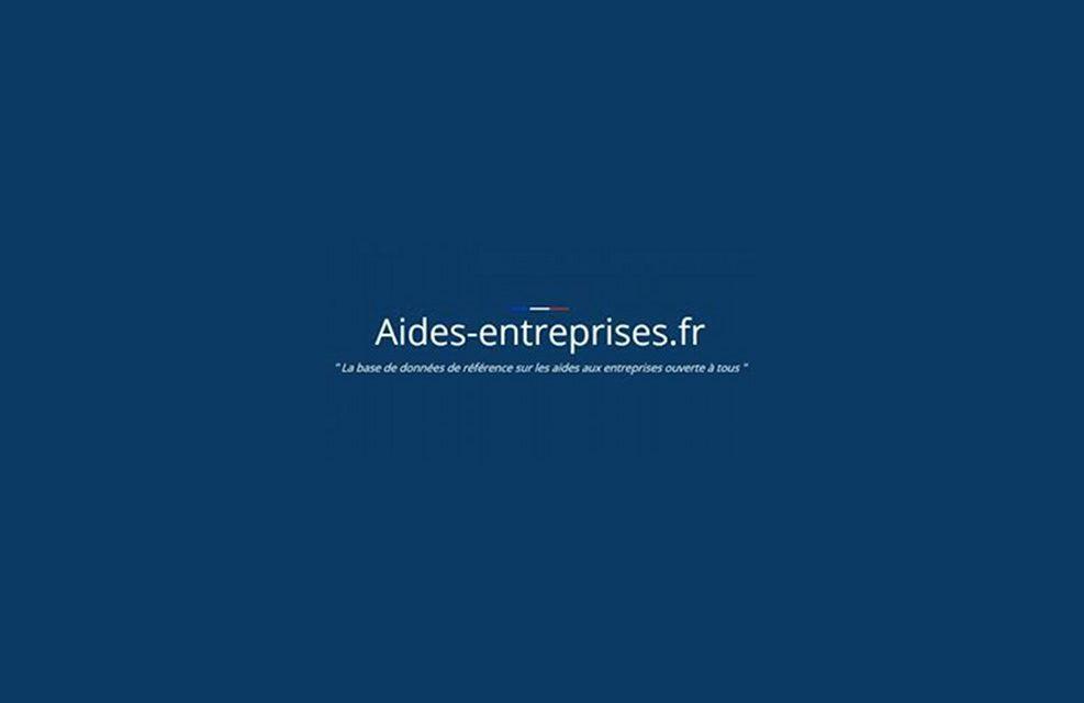 Le site d'aide aux entreprises est en ligne