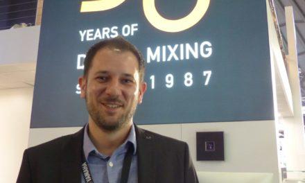 Bertil Sommer chez Yamaha