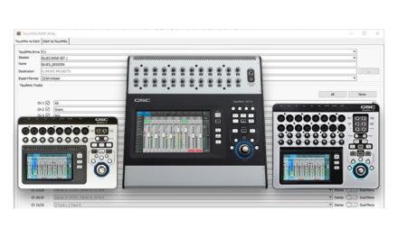 Logiciel QSC DAW Utility Version 2.0