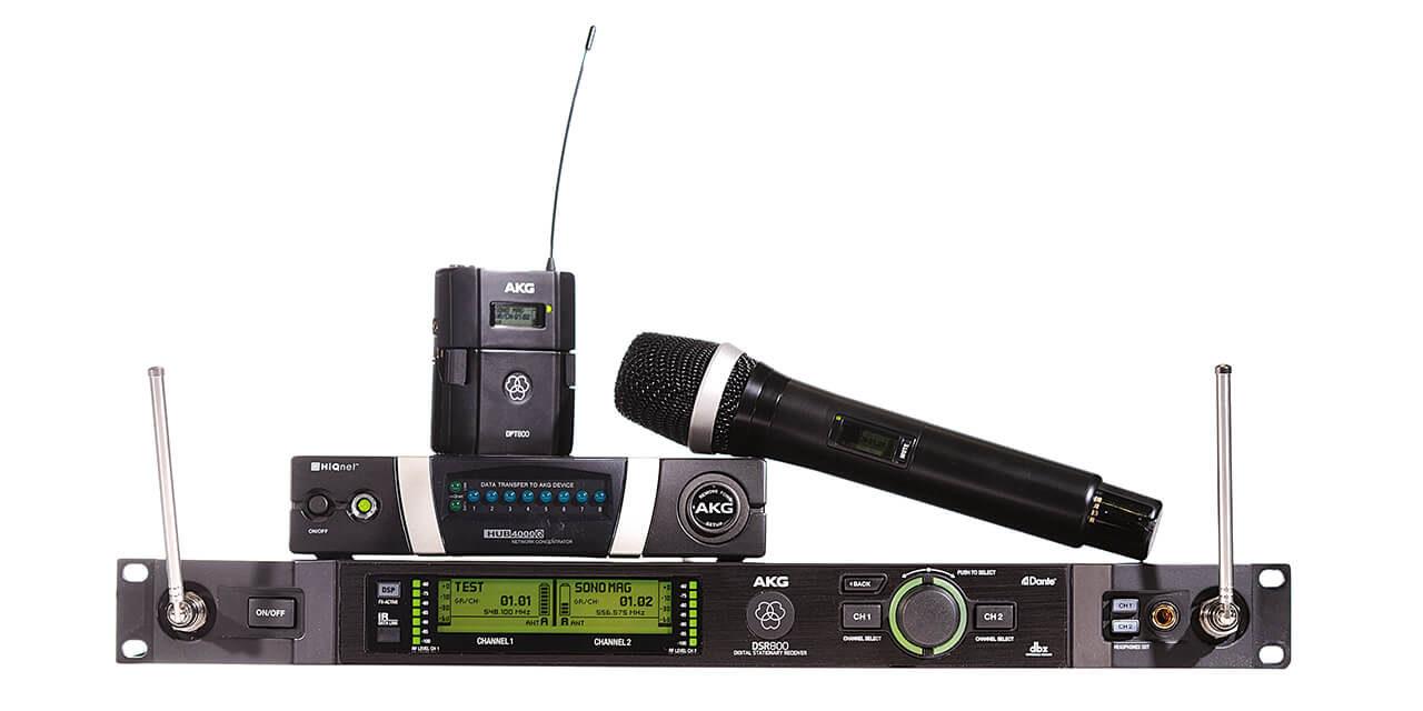 Système HF numérique DMS800 AKG
