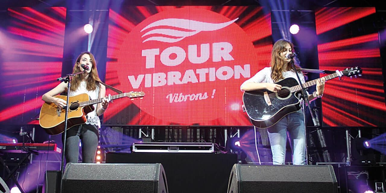 Tournée Vibration 2016