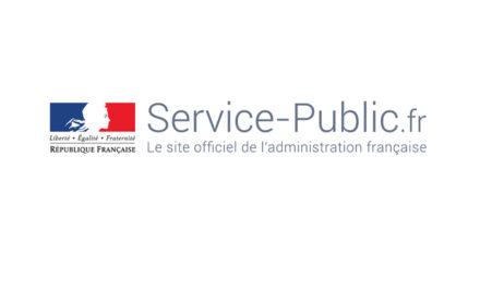 LE PORTAIL SERVICEPUBLIC.FR EST SUR FACEBOOK !