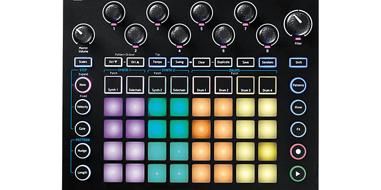 Une version 1.5 pour le Circuit de Novation