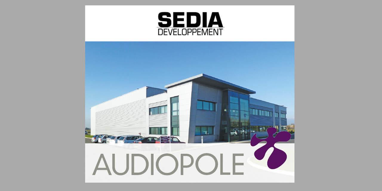 Le groupe SEDIA Développement prend une participation majoritaire dans AUDIOPOLE