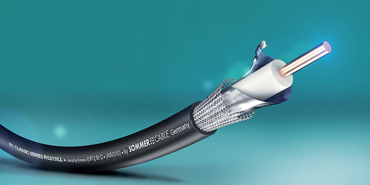 CÂBLE COAXIAL LOW LOSS 50 Ω SOMMER CABLE