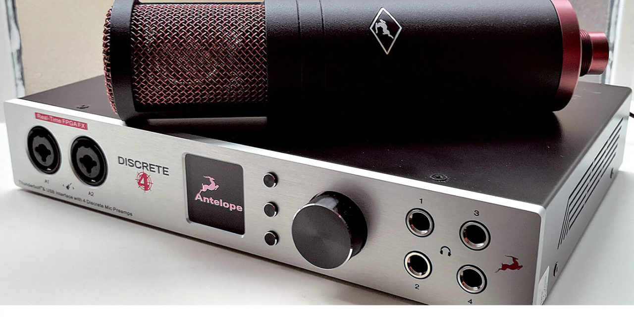 Antelope audio Discrete 4 / Edge