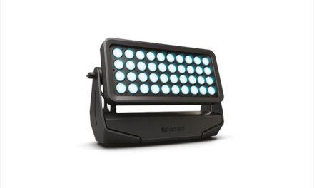CAMEO ZENIT W600 Un projecteur wash à LED extérieur professionnel de classe IP 65