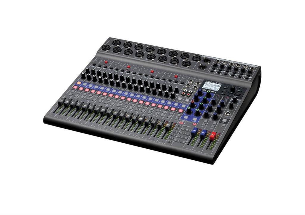 L 20 Console Mixage Livetrack Zoom