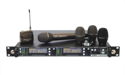 Récepteur HF analogique WISYCOM MRK960 + émetteur MTH400