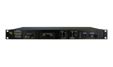 STUDIO TECHNOLOGIES MODEL 5330, I/O VERS DANTE