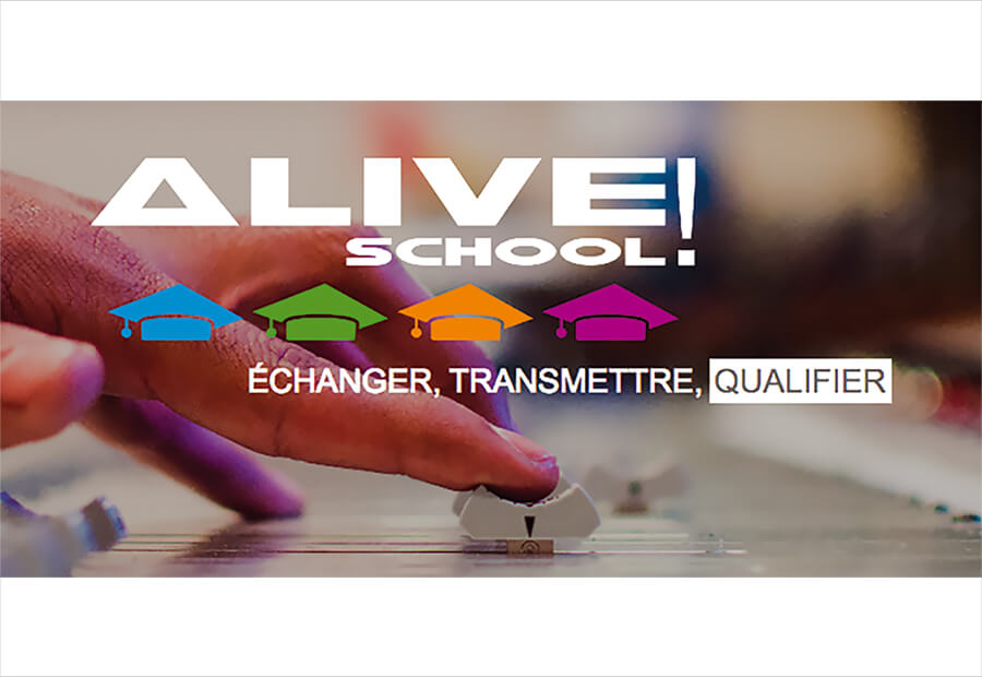 TECHNISCÈNE N'EST PLUS…  BIENVENUE À ALIVE SCHOOL !