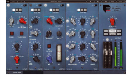 WAVES AUDIO A MIS LA CONSOLE TG EN PLUG-IN