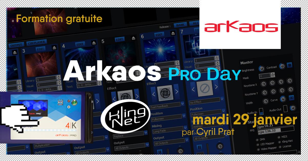 Formation gratuite ARKAOS PRO DAY