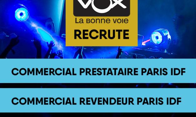 FREEVOX recrute