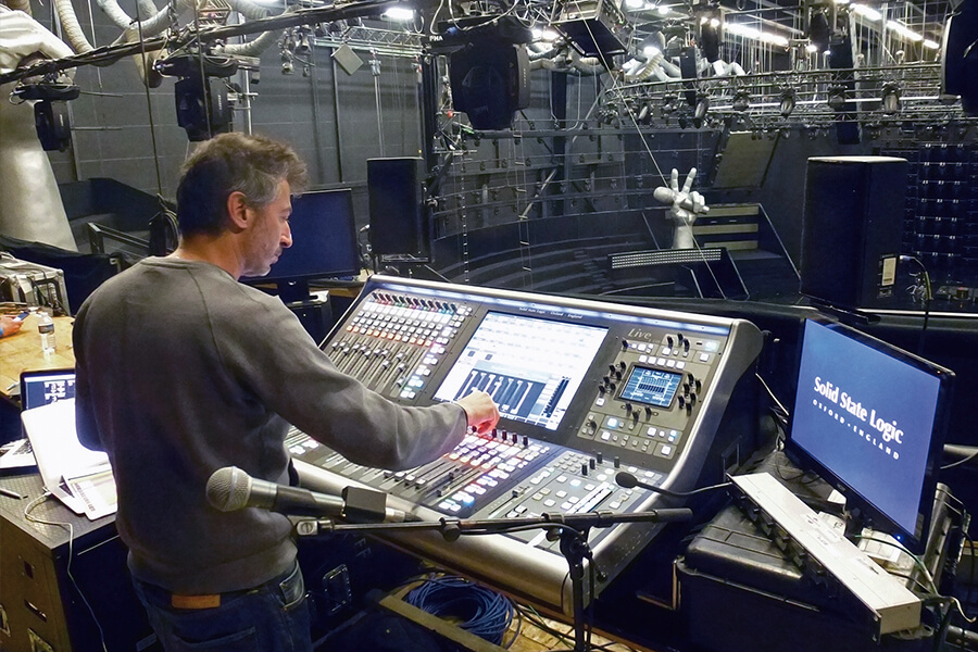 SSL LIVE POUR « THE VOICE »