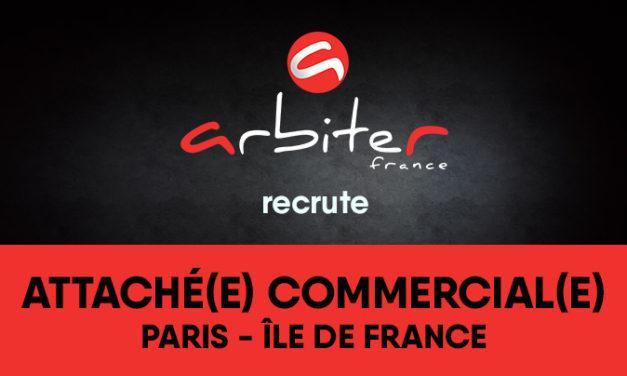 ARBITER FRANCE recrute un(e) attaché(e) commercial(e) secteur Paris IDF