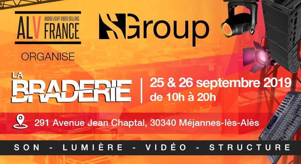 La Braderie S Group c'est en septembre !