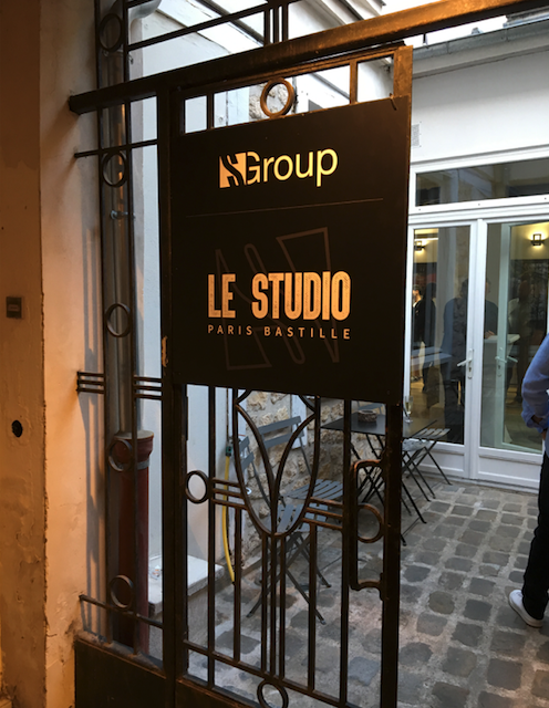 Le Studio S Group, soirée d'inauguration
