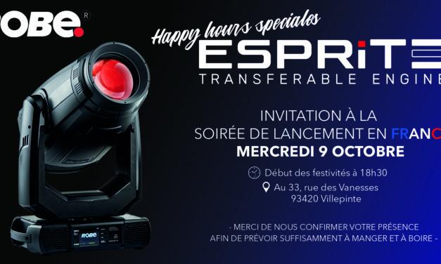 Happy Hours Robe, lancement de l'Esprite le 9 octobre