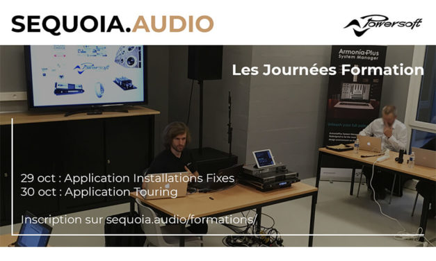 Formation Powersoft avec Sequoia.Audio