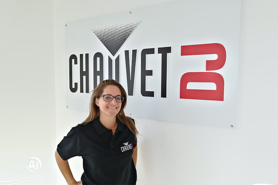 AMANDA EAVEN, AMBASSADRICE CHAUVET DJ