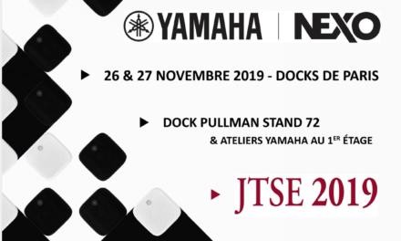 Yamaha et Nexo aux JTSE